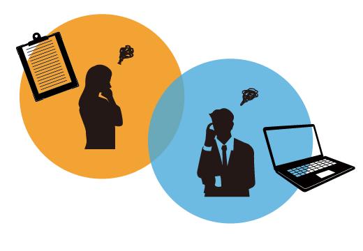 業務の中の様々な問題イメージイメージ
